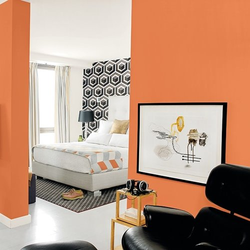The Book of Orange Paint Colors