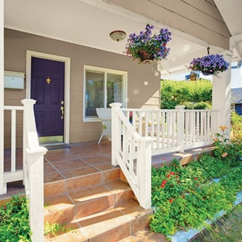 Exterior Purple Paint Colors