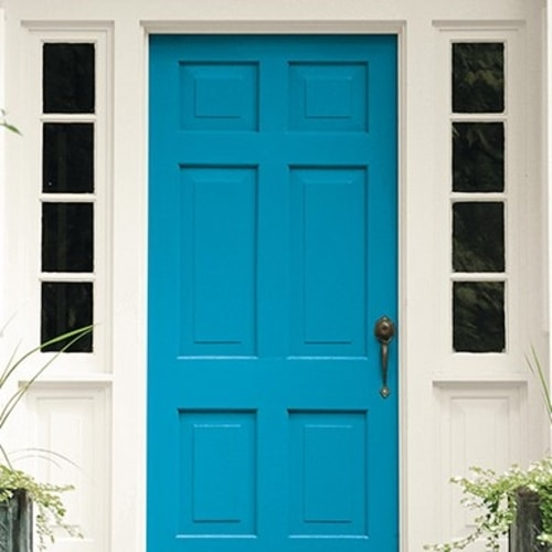 Exterior Aqua Paint Colors