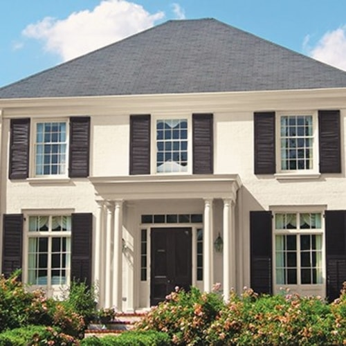 Exterior White Paint Colors